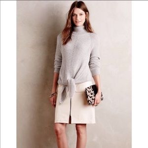 Anthropologie Knitted Turtleneck Sweater